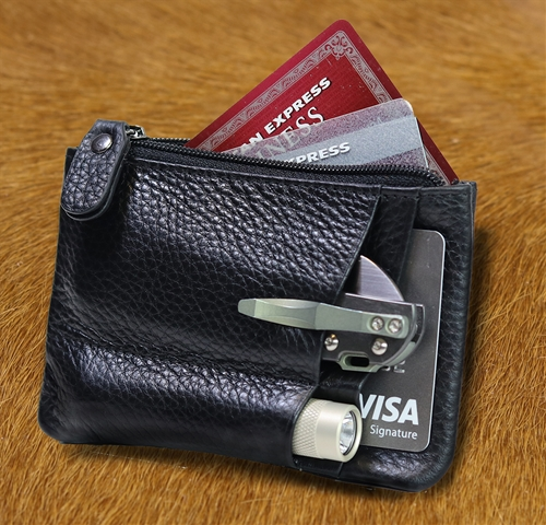Mission Wallet V3 - Leather RFID Blocking