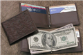 Ostrich Money Clip Wallet
