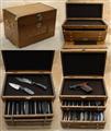 Gerstner Oak hardwood collector chest