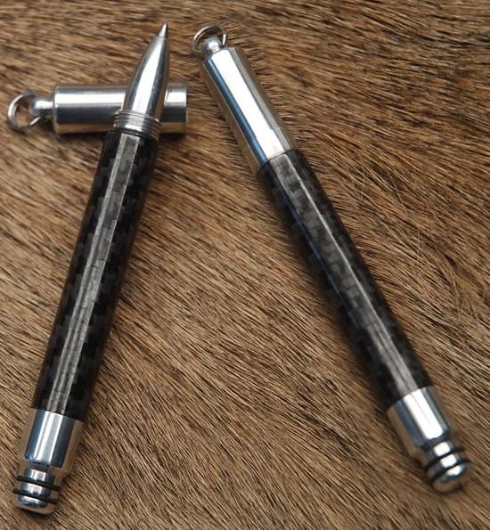 Aluminum Parker Gel Pen w/Carbon Fiber
