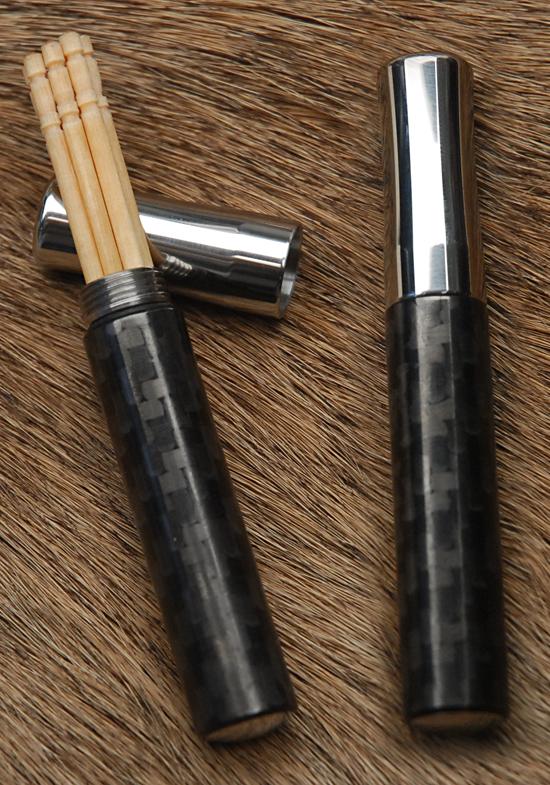 400 Series Toothpick Case w/Carbon Fiber