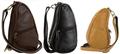 AmeriBag Leather Baglett Shoulder Pack