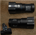 "TM26 ""Tini Moster""Flashlight Black 3500lm,4x18650"